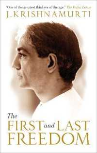 Link to an enlarged image of First and Last Freedom -- Paperback / softback