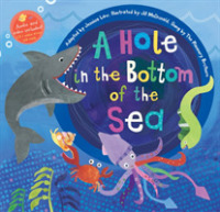Link to an enlarged image of A Hole in the Bottom of the Sea (Barefoot Books Singalongs) (Paperback + Spoken Word Compact Disc)
