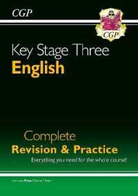 Link to an enlarged image of Ks3 English Complete Revision & Practice (with Online Edition) -- Paperback / softback (2 Revised)