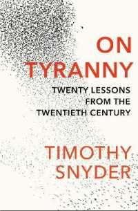 Link to an enlarged image of On Tyranny : Twenty Lessons from the Twentieth Century -- Paperback / softback