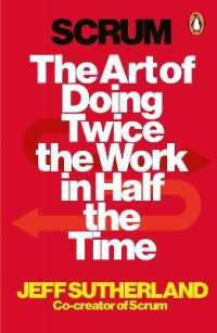 Link to an enlarged image of Scrum : The Art of Doing Twice the Work in Half the Time -- Paperback / softback