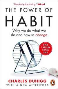 Link to an enlarged image of Power of Habit : Why We Do What We Do, and How to Change -- Paperback / softback