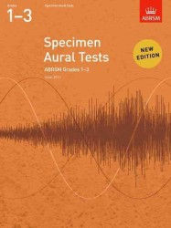 image of Specimen Aural Tests, Grades 1-3 : new edition from 2011 (Specimen Aural Tests (Abrsm)) -- Sheet music