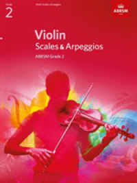 Link to an enlarged image of Violin Scales & Arpeggios, Abrsm Grade 2 : From 2012 -- Book