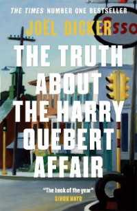 Link to an enlarged image of Truth about the Harry Quebert Affair -- Paperback