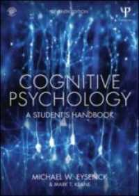 Link to an enlarged image of Cognitive Psychology : A Student's Handbook (7th Paperback + Pass Code)