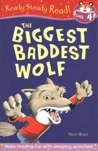 Link to an enlarged image of Biggest Baddest Wolf (Ready Steady Read) -- Paperback / softback (UK ed.)