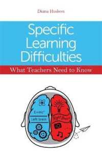 Link to an enlarged image of Specific Learning Difficulties : What Teachers Need to Know