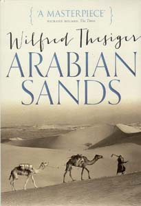 arabian s ands thesiger wilfred stewart rory