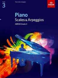 Link to an enlarged image of Piano Scales & Arpeggios, Grade 3 (Abrsm Scales & Arpeggios) -- Sheet music