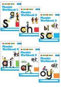 Link to an enlarged image of Phonics Workbooks (1-6) -- Paperback / softback