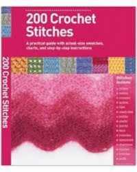 Link to an enlarged image of 200 Crochet Stitches