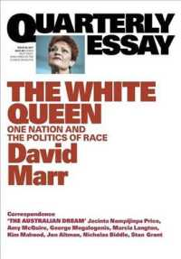 "Link to an enlarged image of Quarterly Essay 65 The White Queen: One Nation and the Politics of Race (Quarterly Essay"") <65>"