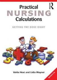 Link to an enlarged image of Practical Nursing Calculations : Getting the Dose Right