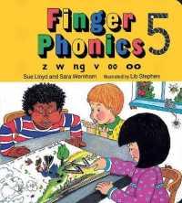 Link to an enlarged image of Finger Phonics Book 5 : Z, W, Nb, V, Oo/Board Book (BRDBK)