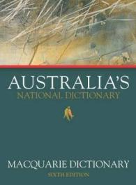 Link to an enlarged image of Macquarie Dictionary Sixth Edition