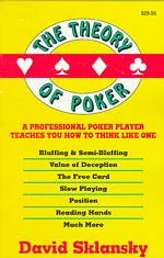 Link to an enlarged image of The Theory of Poker (3rd)