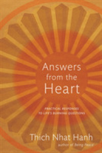 Link to an enlarged image of Answers from the Heart : Practical Responses to Life's Burning Questions
