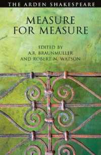 Link to an enlarged image of Measure for Measure (The Arden Shakespeare Third) (3rd)