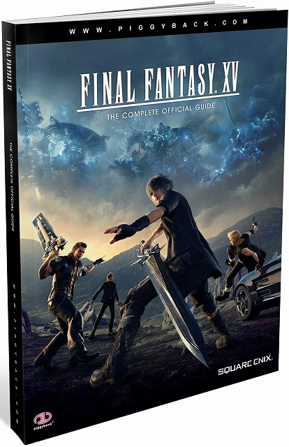 Link to an enlarged image of Final Fantasy XV : The Complete Official Guide (Standard Edition / PCK Paperback + PS)
