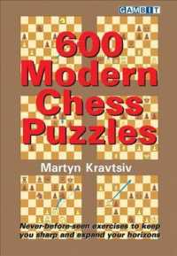 Link to an enlarged image of 600 Modern Chess Puzzles