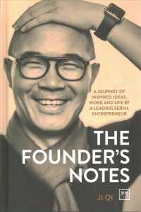 Link to an enlarged image of The Founder's Notes : A Journey of Inspired Ideas, Work and Life by a Leading Serial Entrepreneur