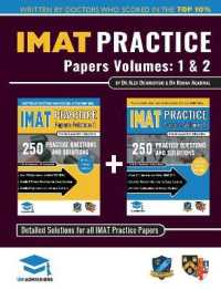 Link to an enlarged image of IMAT Practice Papers Volumes One & Two: 8 Full Papers with Fully Worked Solutions for the International Medical Admissions Test, 2019 Edition