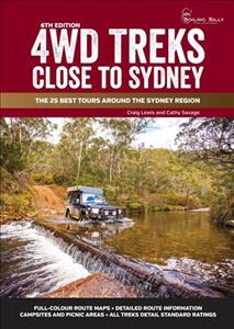 Link to an enlarged image of 4wd Treks Close to Sydney - A4 Spiral Bound : The 25 Best Tours around the Sydney Region (Boiling Billy 4wd Guides) -- Spiral bound (6 ed)