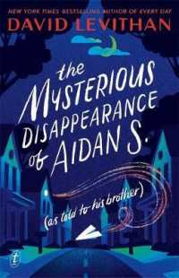Link to an enlarged image of The Mysterious Disappearance of Aidan S