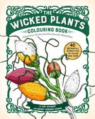 The Wicked Plants Colouring Book By Stewart Amy Morrow Cribbs Briony