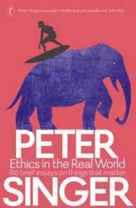 Link to an enlarged image of Ethics in the Real World 86 Brief Essays on Things That Matter