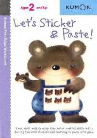image of Let's Sticker and Paste (Kumon First Steps Workbooks) (Original)
