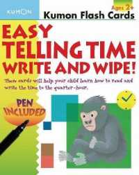 Link to an enlarged image of Easy Telling Time : Write and Wipe! (FLC CRDS)