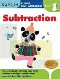 Link to an enlarged image of Kumon Math Subtraction : Grade 1 (Kumon Math Workbooks) (Workbook)