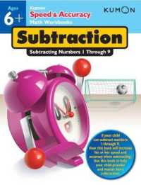 Link to an enlarged image of Subtraction : Subtracting Numbers 1 through 9 (Speed & Accuracy Math Workbooks) (CSM Workbook)