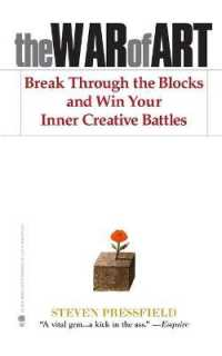 Link to an enlarged image of The War of Art : Break through the Blocks and Win Your Inner Creative Battles