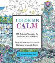 Books Kinokuniya Color Me Calm Adult Coloring Book 100