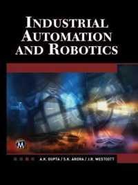 Link to an enlarged image of Industrial Automation and Robotics (Hardcover + CD-ROM)