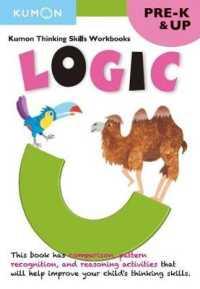 Link to an enlarged image of Logic : Pre-K (Kumon Thinking Skills Workbooks) (CSM Workbook)