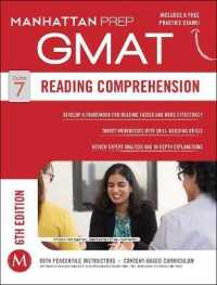 Link to an enlarged image of Manhattan Prep Gmat Reading Comprehension (Manhattan Prep) (6th Paperback + Pass Code)