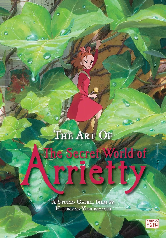 Link to an enlarged image of The Art of the Secret World of Arrietty (Reprint)
