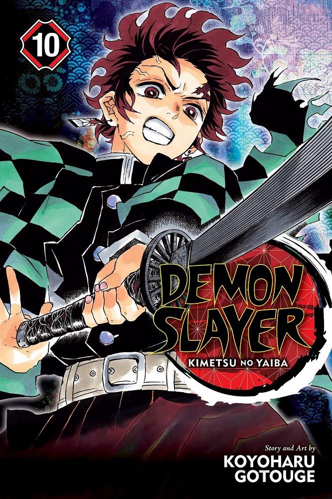 Link to an enlarged image of Demon Slayer Kimetsu No Yaiba 10 : Shonen Jump Edition (Demon Slayer: Kimetsu No Yaiba)