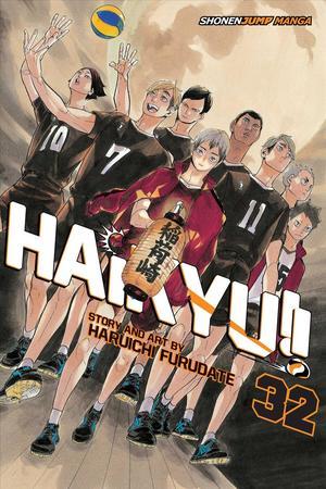Link to an enlarged image of Haikyu!! 32 (Haikyu)
