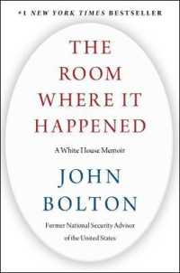 Link to an enlarged image of The Room Where It Happened : A White House Memoir