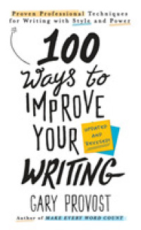 Link to an enlarged image of 100 Ways to Improve Your Writing (Updated Revised)