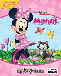 Link to an enlarged image of Disney Junior Minnie Mouse My Busy Book