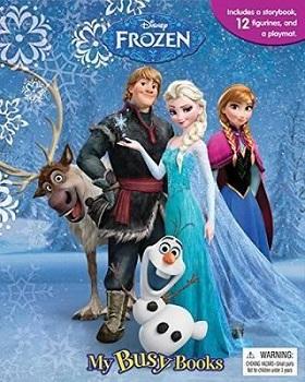 My Busy Books Disney Frozen 9782764323519