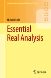 Books Kinokuniya: Essential Real Analysis (Springer Undergraduate