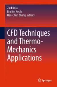 Books Kinokuniya: CFD Techniques and Thermo-Mechanics Applications
