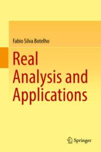 Books Kinokuniya: Real Analysis and Applications / Botelho, Fabio